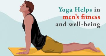 Yoga helps in men's fitness and well-being